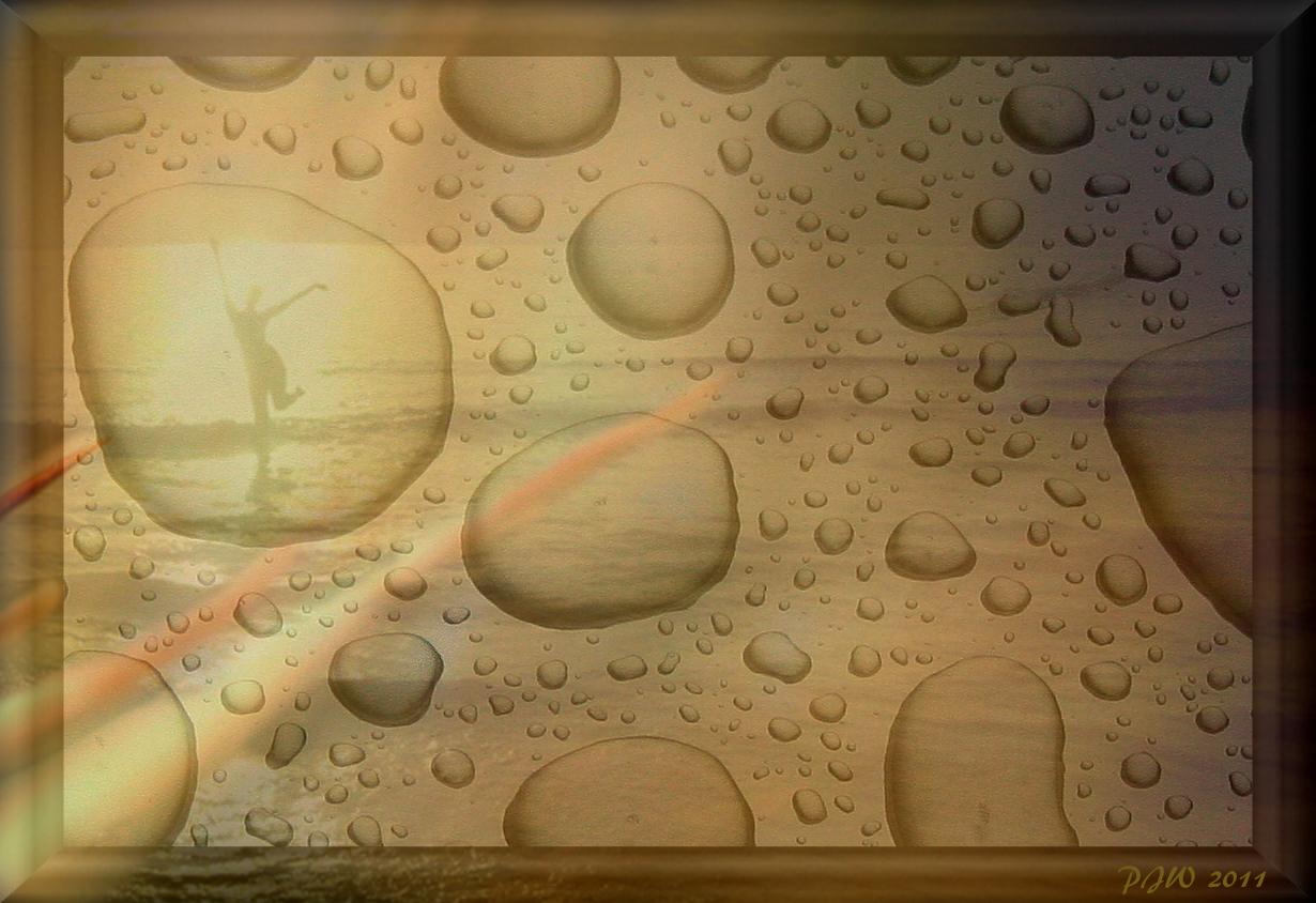Der Regentropfen-tanz