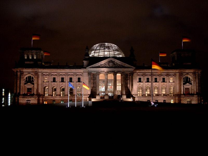 Der Reichstag in meiner Digitalkamera