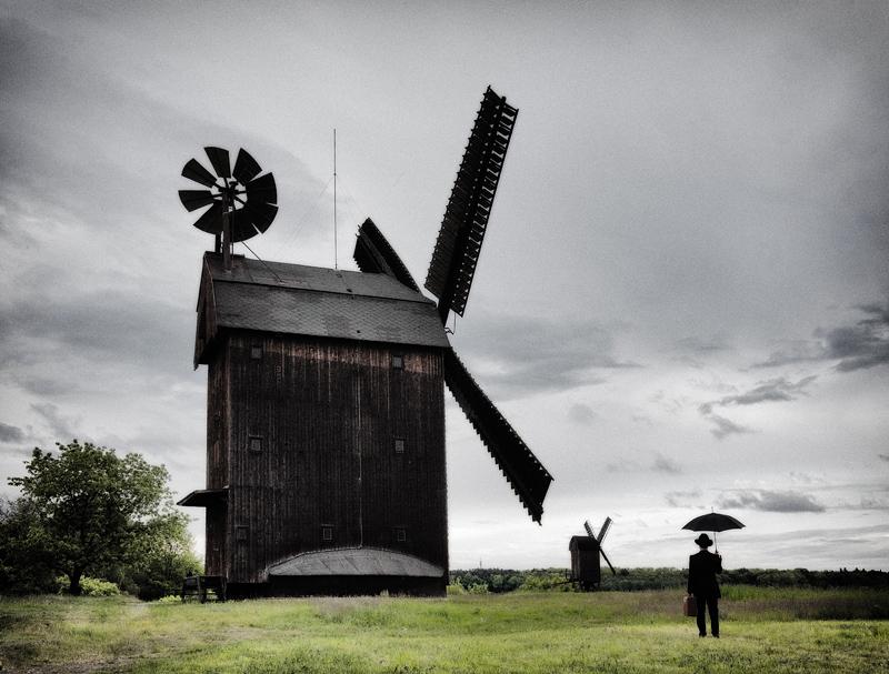 Der Reisende bei den Mühlen