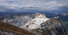 ..der Rest vom Zugspitz Gletscher