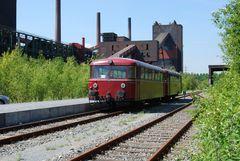 Der Revier Sprinter am Bahnhof Kokerei Zollverein