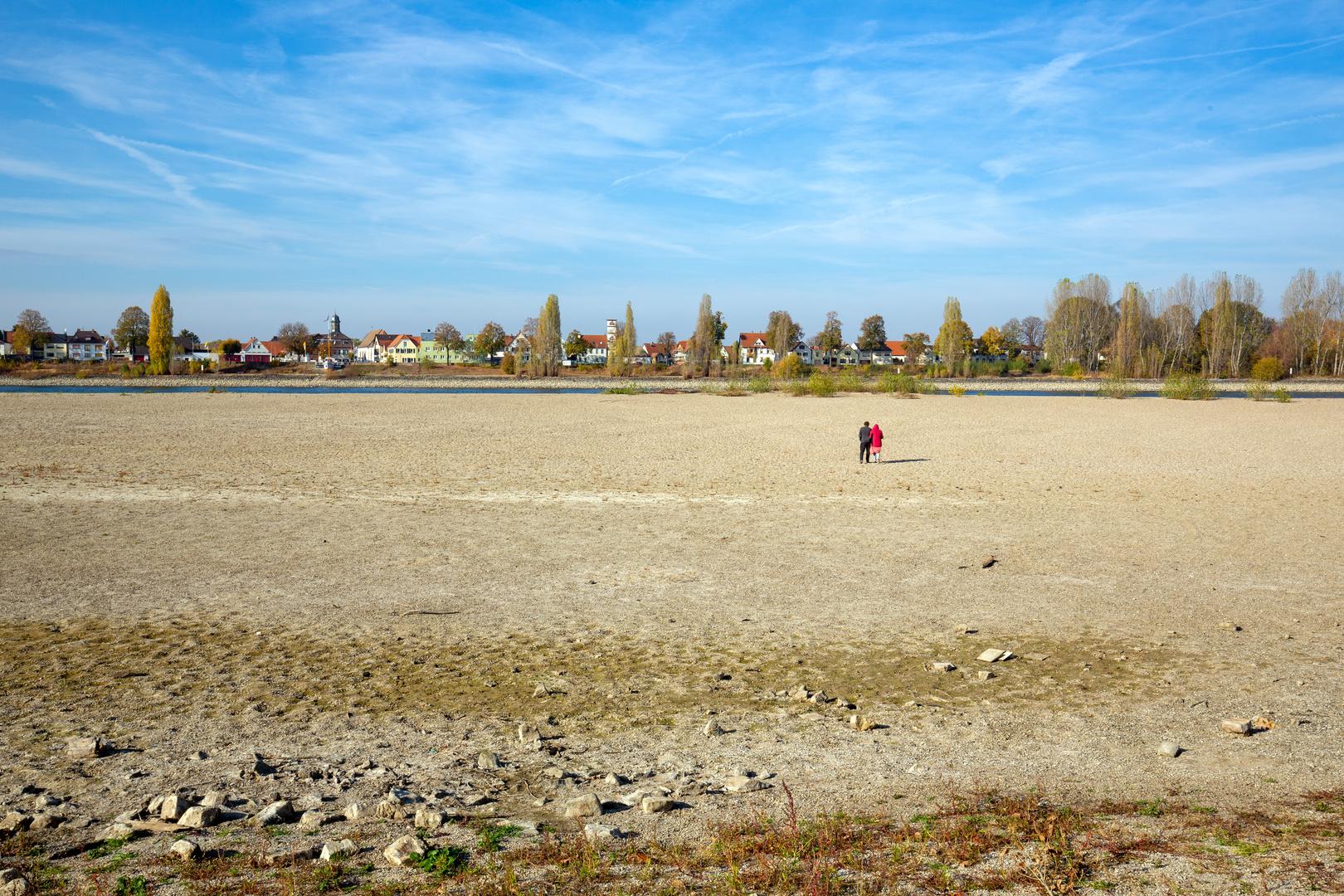 Der Rhein liegt trocken (I)