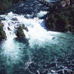 Der Rheinfall bei Neuhausen / Schaffhausen (Suisse)