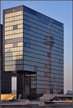 Der Rheinturm im Hyatt