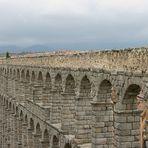 Der römische Aquädukt von Segovia, Spanien