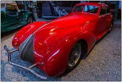 Der rote Alfa Romeo