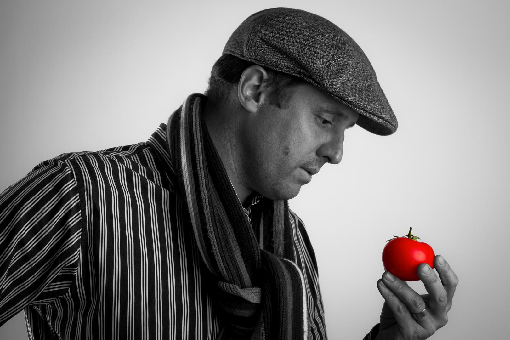 Der rote Apfel...?
