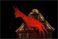 der rote Esel