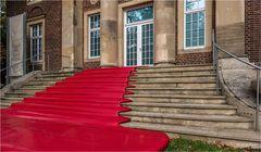 Der rote Teppich......