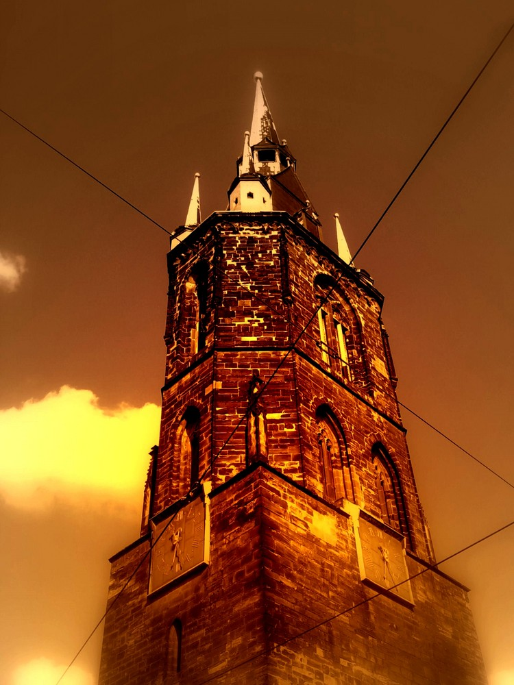 Der Rote Turm - mal etwas anders
