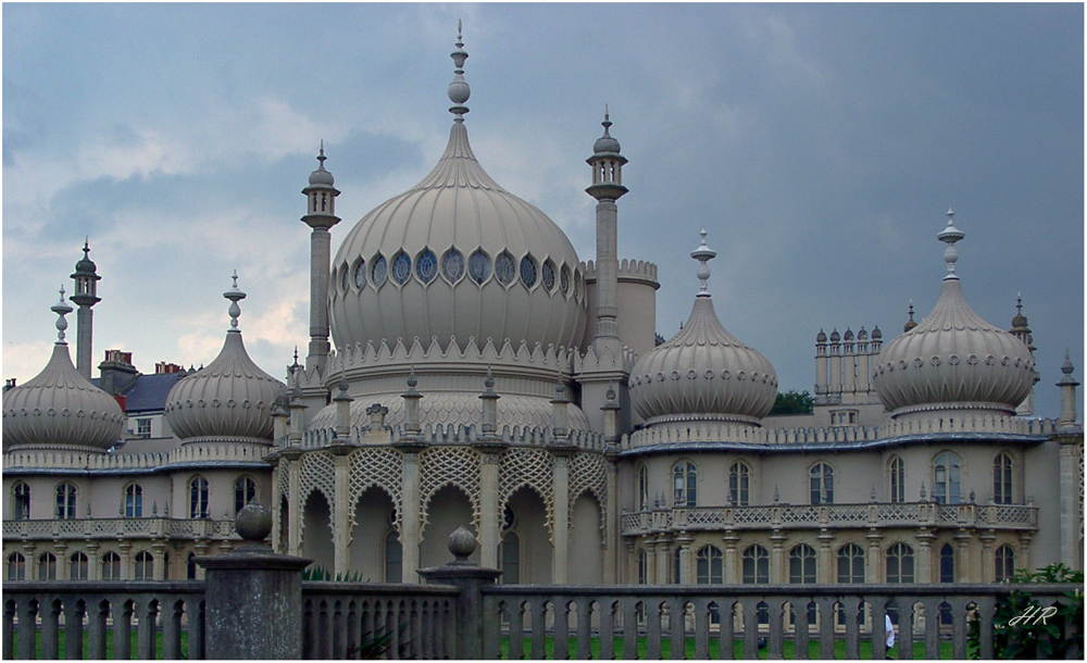 Der Royal Pavilion in Brighton