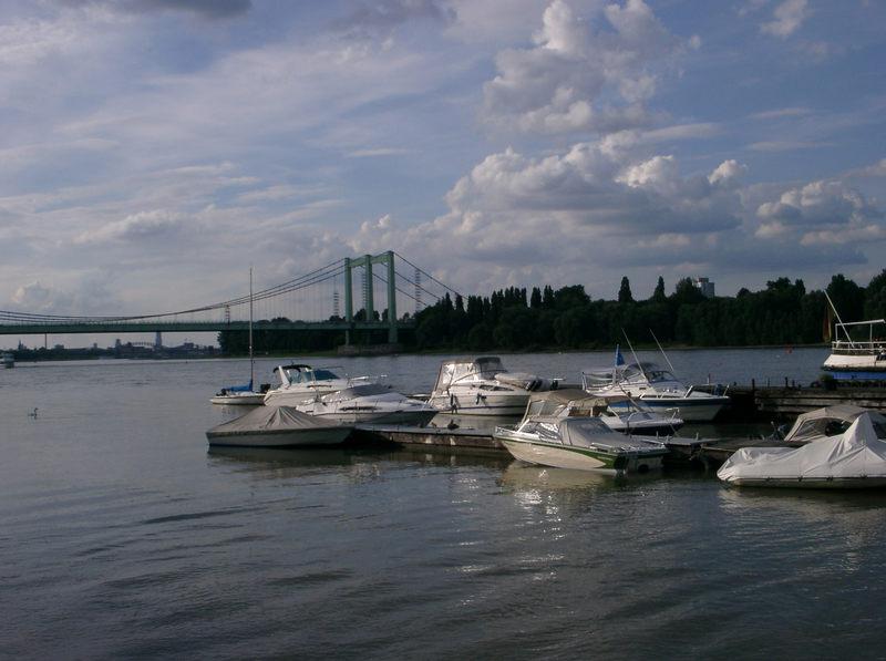 Der ruhige, reiche Rhein