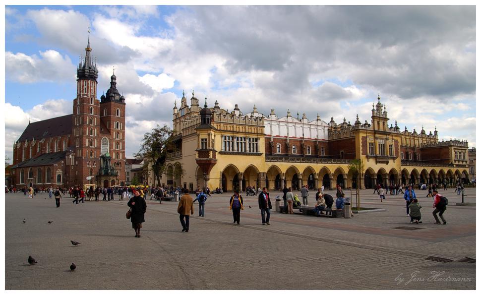 Der Rynek, Zentrum von Krakau