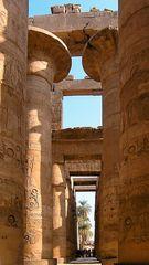 Der Säulensaal des Karnak-Tempels