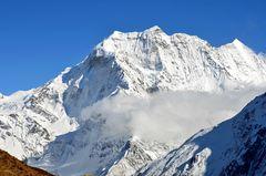 Der Samdo Ri (6335 m) nördlich von Dharamsala