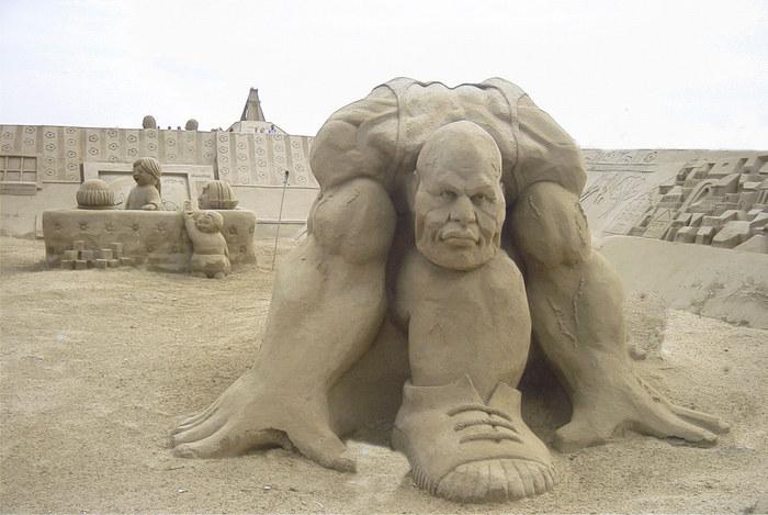 Der Sandsprinter