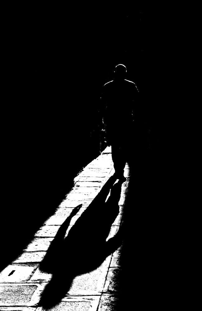 Schatten Mann