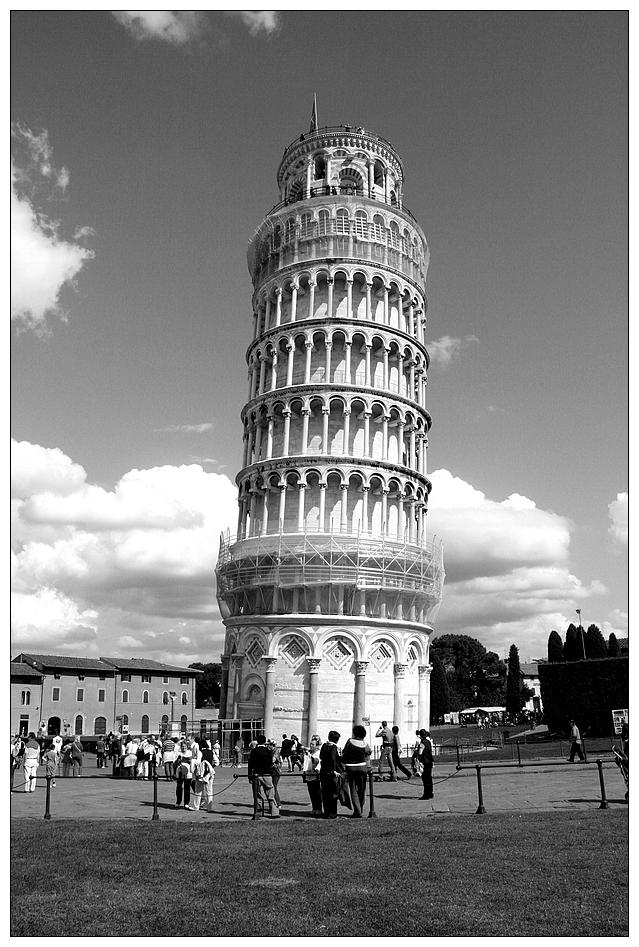Der schiefe Turm...