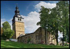 Der schiefe Turm von Bad Frankenhausen