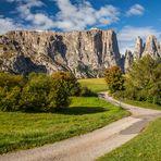 Der Schlern (2.563 m) ...