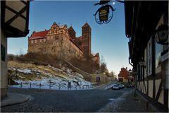 Der Schlossberg mit Dom