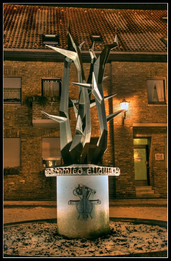 Der Schmied Eligius ... bei Nacht