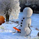 Der Schneemann .