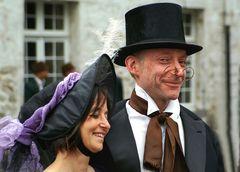 Der Schuhmacher mit seiner Frau ...