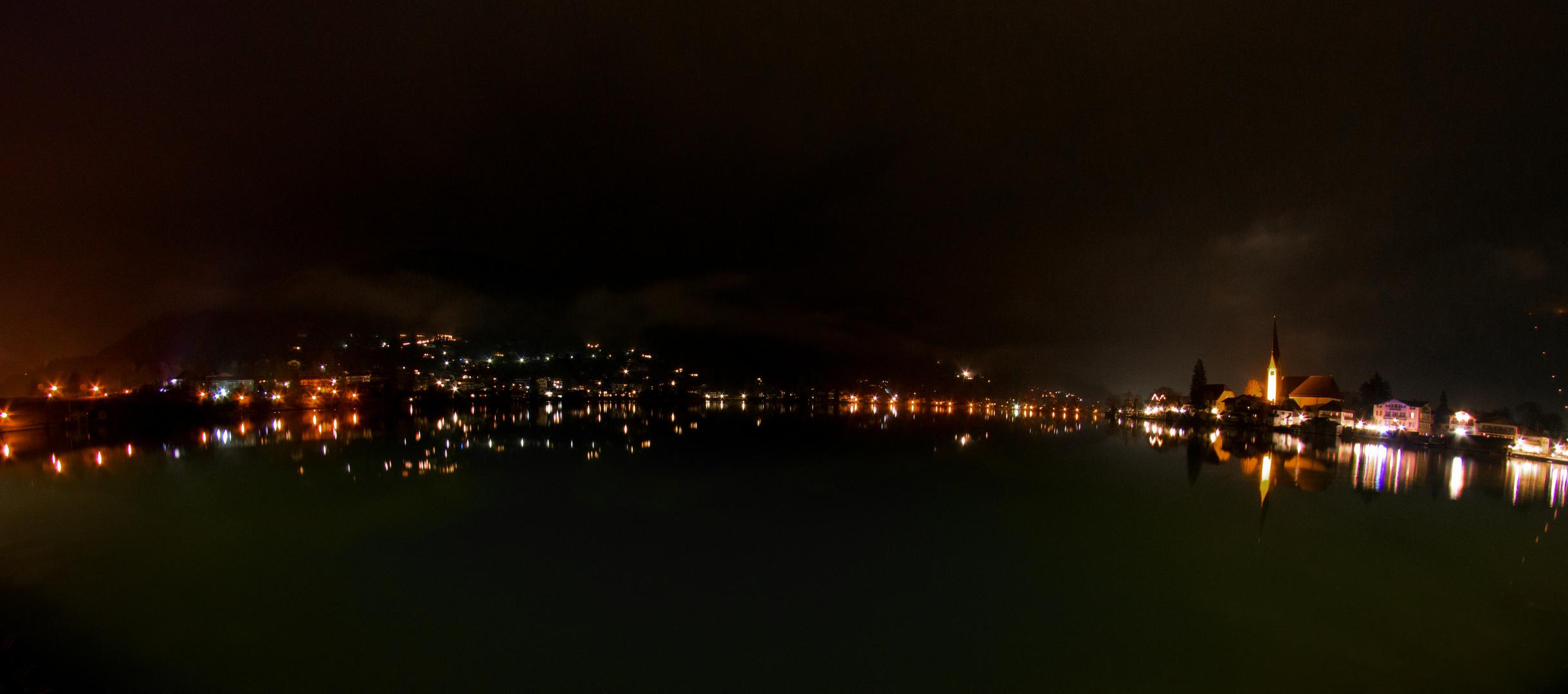 Der See bei Nacht
