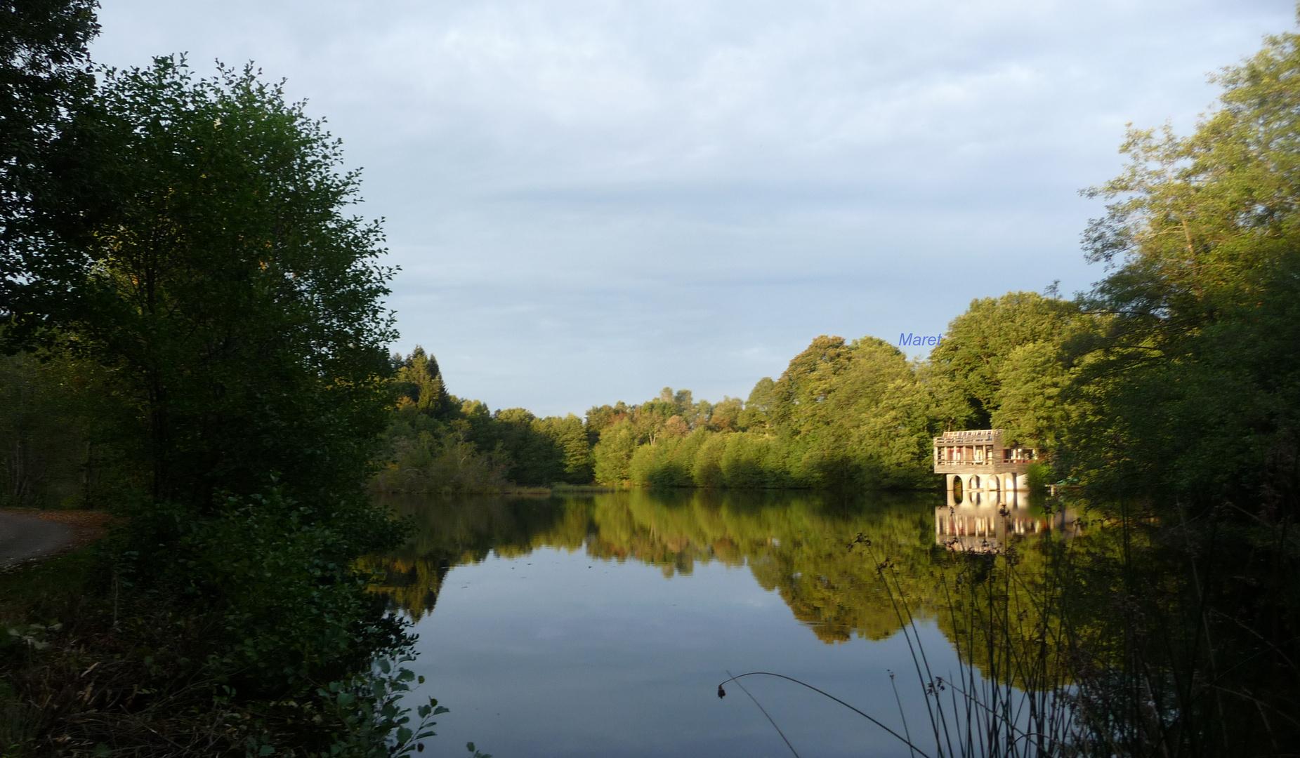 Der See in den Vogesen