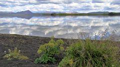 Der See Mývatn