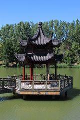 Der Seepavillon von Tempel aus