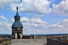 Der Seigerturm auf der Festung Königstein