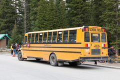 Der Shuttle am Moraine Lake