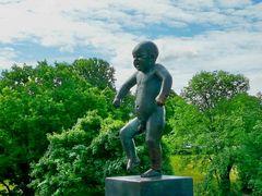 Der Skulpturenpark in Oslo