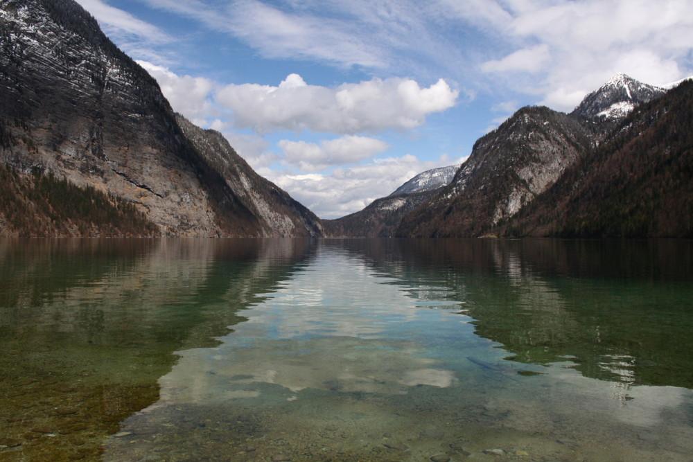 Der smaragdgrüne Königssee