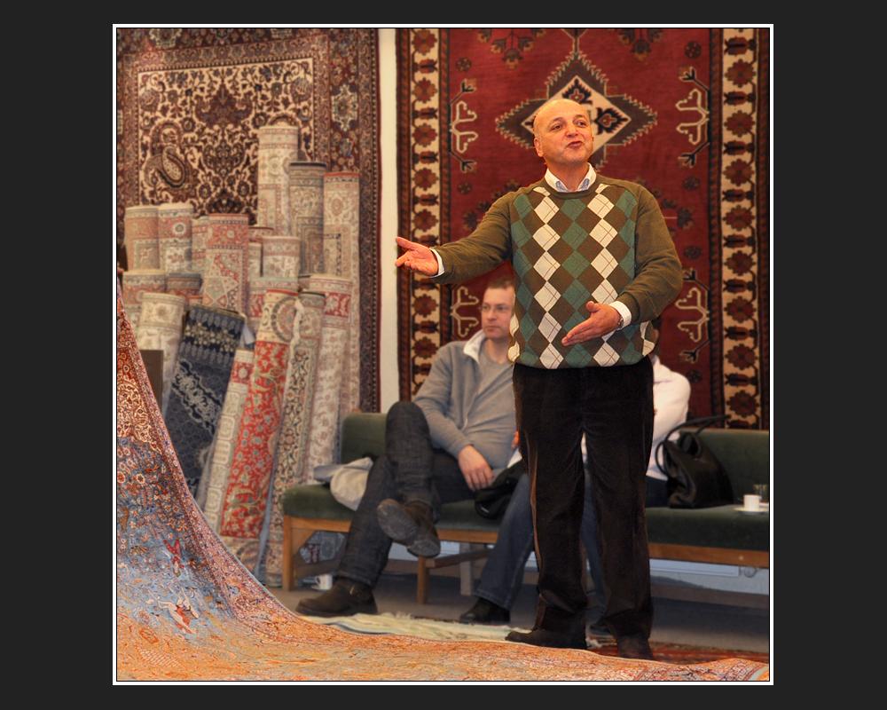 Der smarte Teppichhändler