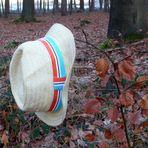 Der Sommer, im Winterwald verloren gegangen
