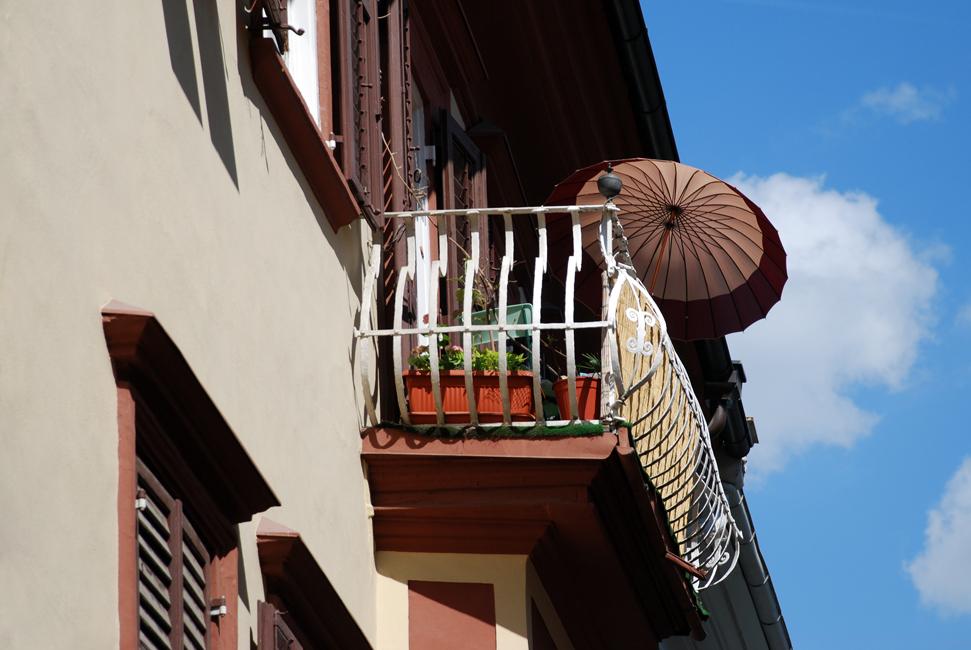 Der Sonnenschirm