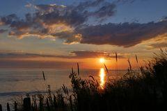 der Sonnenuntergang..