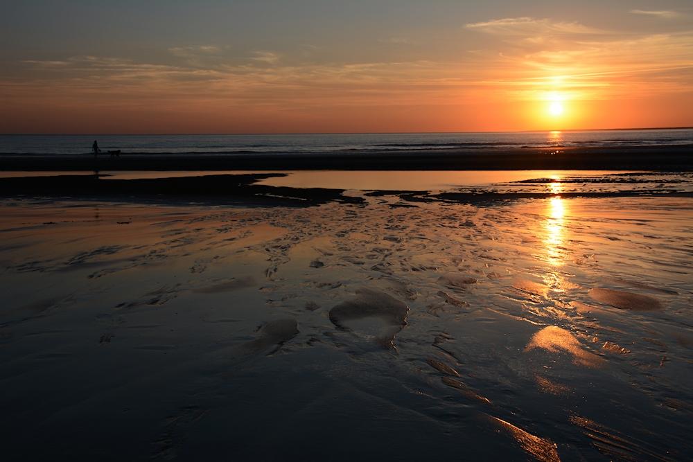der Sonnenuntergang.....