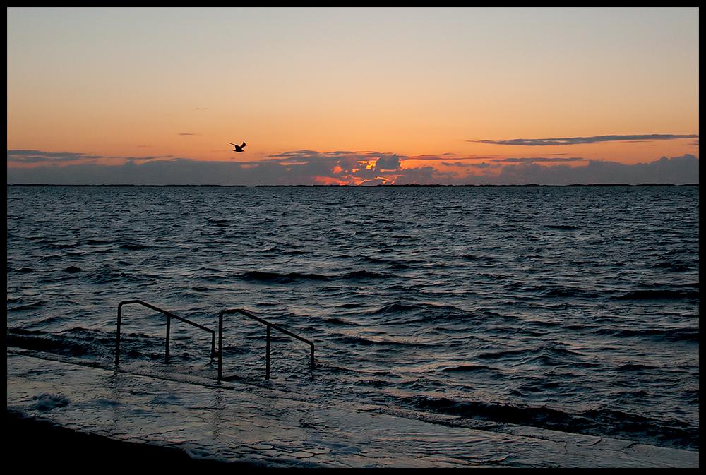 Der Sonnenuntergang ist ein Lehrstück ...