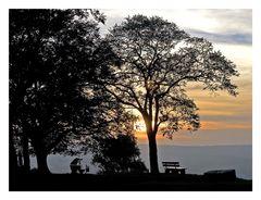 Der Sonnenuntergangsfotograf