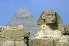 Der Sphinx & Chefren Pyramide
