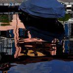 Der Spiegel mediterraner Farben