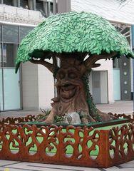 der sprechene Baum in Chemnitz