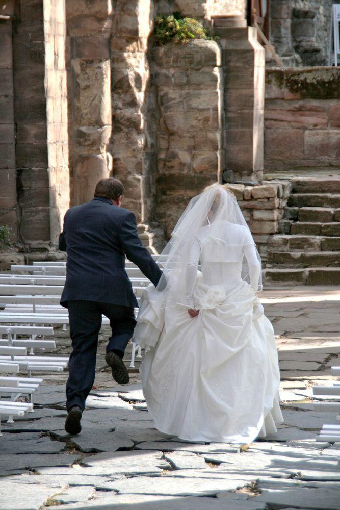 Der Sprung in die Ehe
