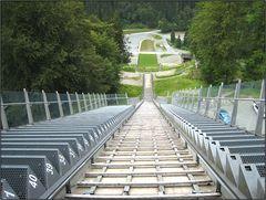 Der Sprung in einen neuen Lebensabschnitt - Weltcupschanze/Adlerhorst
