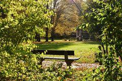 Der Stadtpark im Herbst 2