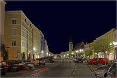 Der Stadtplatz in Mühldorf am Inn